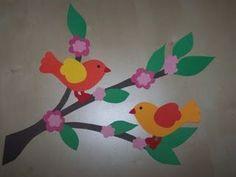 Madarak és fák napja – Anya játsszunk! Bird Crafts, Fun Diy Crafts, Flower Crafts, Easter Crafts, Class Decoration, School Decorations, Diy For Kids, Crafts For Kids, Arts And Crafts