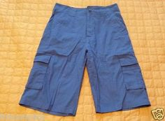 #Rocawear men cargo shorts size 30 extra long blue cotton NWT visit our ebay store at  http://stores.ebay.com/esquirestore