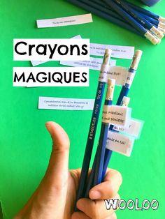 Adoptez le crayon magique pour passer à travers l'éprouvante période d'évaluations scolaires! #trucdeprof #magie #enfant #trucsetastuces Evaluation, Peaceful Parenting, Crayon, Activities For Kids, Positivity, Studying, School, Writing Motivation, School Motivation