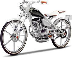 Moegi, a elegante moto conceito da Yamaha