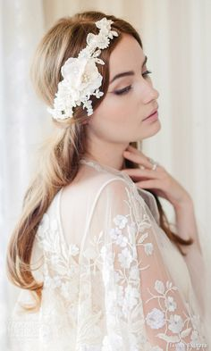 Jannie Baltzer 2016 Bridal Accessories | Wedding Inspirasi