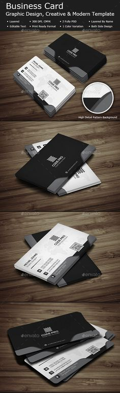 Modern Business Card - #Business #Cards Print Templates Download here: https://graphicriver.net/item/modern-business-card/20113402?ref=alena994