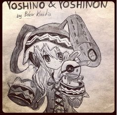 Yoshino and Yoshinon - Date A Live by Bokor Klaudia