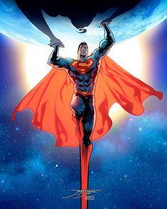 Superman Variant cover by Jorge Jimenez & Alejandro Sanchez Arte Do Superman, Mundo Superman, Superman Artwork, Superman Wallpaper, Superman Comic, Superman Stuff, Superman Family, Superman Symbol, Superman Man Of Steel