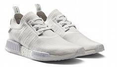 "adidas NMD_R1 Primeknit ""Monochrome Pack"" – Triple Whites"