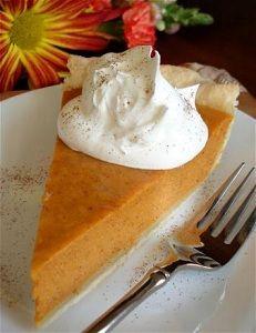 Mommy's Favorite Things: Easy Pumpkin Pie - Recipe