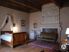 interior architecture 17th century france | Château from the 17th century for sale in france
