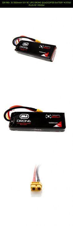 3DR Iris+ 3S 5100mAh 11.1V RC LiPo Drone Quadcopter Battery w/XT60 Plug by Venom #kit #gadgets #plans #technology #products #drone #3dr #fpv #parts #battery #lipo #5100mah #shopping #camera #tech #racing