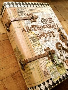 Altered book - Jane Dean #diy #cover #art #journal #scrapbook
