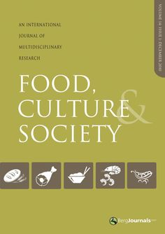 Food, Culture & Society - Journal auch online unter http://www.food-culture.org/journal_fcs.php