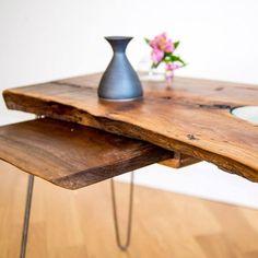 Custom live edge coffee table #interiordesign #coffee #Table #rustic