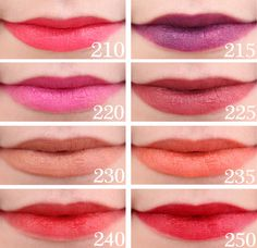 Revlon ColorBurst Matte Balm Swatches 210 Unapologetic 215 Shameless 220 Showy - Care - Skin care , beauty ideas and skin care tips Revlon Lipstick, Makeup Lipstick, Lipsticks, Natural Lip Colors, Natural Lips, Lip Color Tattoo, Revlon Colorburst Matte Balm, Beauty Hacks, Beauty Ideas