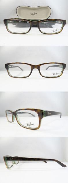 Eyeglass Frames: Ray-Ban Rb 5187 2445 Clear Havana Green New Authentic Eyeglasses 52Mm W Case -> BUY IT NOW ONLY: $49.99 on eBay! https://tumblr.com/ZOe66d2OlSiuf