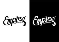 // A logo design for Empire Clothing. Empire Clothing, Clothing Logo, Empire Logo, Barbershop Ideas, Ball Python, Logo Design, Graphic Design, Logo Concept, Organic Skin Care