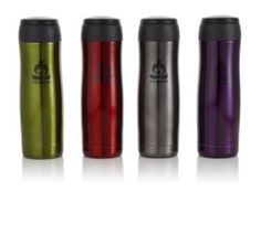 Teavana Contour Tumbler, Tea-on-the-go is easy and stylish with our Teavana Tumbler. Includes a removable tea basket so you can steep your tea anywhere; and the double-walled, vacuum-insulated tea tumbler will keep your favorite blend hot or cold for up to six hours. Just steep your tea and then remove the tea basket once done! Holds 16oz (470mL) of tea.