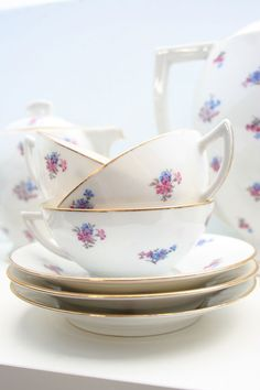 Limoges China. I got my love of fine china from my grandmother