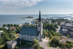 Thinking to visit Hanko? This small town on the southern coast of Finland is full of wonderful nature. Here are some cool things to do in Hanko in summer! Finland Summer, Stuff To Do, Things To Do, Water Tower, Archipelago, Small Towns, San Francisco Skyline, Beautiful Places, Places To Visit