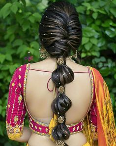 Finding out a perfect hairstyle for you look. bridal hairstyles bridal hairstyles for long hair bridal hairstyles for short hair south Indian bridal hairstyles bridal hairstyles pictures South Indian Wedding Hairstyles, Bridal Hairstyle Indian Wedding, Bridal Hair Buns, Bridal Hairdo, Wedding Hair Down, Indian Hairstyles, Bridal Hairstyle For Reception, Indian Wedding Makeup, Indian Bridal Makeup