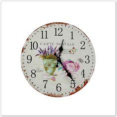 79af2af62e Kalocsai mintás falióra | Saját kreatív dolgaim | Kalocsai, Clock és Home  décor