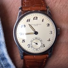 Killer 1940's Patek Philippe Calatrava Ref. 96 with Breguet numerals #iconicpieces #patina #breguetnumerals #patekphilippe #ref96 #vintagepatek #denim #vintageluxury #watchfam #vintagewatches #watchs #patek #breguetnumbers #calatrava #watches #style #iconicpieces_com