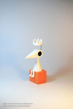 Crow Ida. Monument Valley Game figure. by ddpatron on DeviantArt