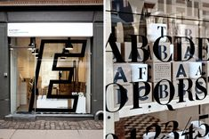 Playtype™ Concept Store in Copenhagen   #hipshops #designstore #typography
