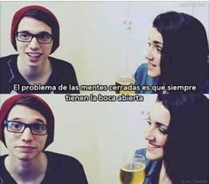 <3 <3 <3 la posta Youtube Memes, Youtubers, Decir No, People, Truths, Frases, Flat, Tips, Photos