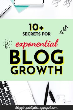 10+ Secrets For Exponential Blog Growth ... Is your blog not growing? Check out this post to know what you are doing wrong or missing out … blogging for beginners , how to grow your blog , blogging tips ... #blogging101 #bloggingforbeginners #howtogrowyourblog #growyourblogtraffic #bloggingtips #growyourblog #bloggingdelights How To Know, How To Start A Blog, Blogging For Beginners, Blog Tips, The Secret