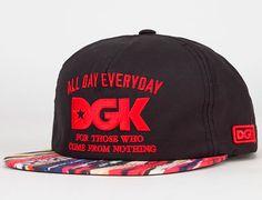 "Strapback Saturdays: DGK ""All Day 94"" Strapback Cap"