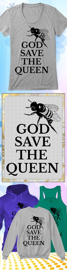 God Save the Queen - Limited edition. Order 2 or more for friends/family & save on shipping! Makes a great gift!