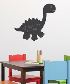 Take a look at this Chalkboard Cartoon Dinosaur Wall Decal by Wallquotes.com by Belvedere Designs on #zulily today! $20 !!