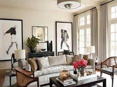 Nate Berkus Living Rooms Decorating Ideas With Grey Curtains Interior Design - GiesenDesign