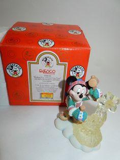 Enesco Mickey with Ice Carving Figurine w/Box #195626 #DisneyUnesco