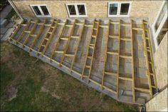 Konstruktion af terrasse