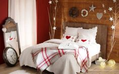 Check Out 21 Cozy Christmas Bedroom Decor Ideas. To feel the Christmas spirit from the moment of waking up, you need to decorate your bedroom.