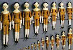 The Dolls of St Ulrich's (Ortisei) Museum in the Val Gherdëina and Eric Horne