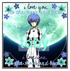 """""""Rei Ayanami Icon"""" by josi-heart ❤ liked on Polyvore featuring art, senpaiicons and senpai3k"""