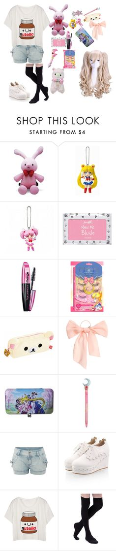 """💝💕Back to school kawaii style💕💝"" by super-kawaii-zoe ❤ liked on Polyvore featuring Barry M, L'Oréal Paris, cutekawaii and H&M"