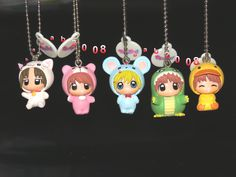 TAKARATOMY A.R.T.S KING OF PRISM Keychain All 12 set Gashapon mascot toys