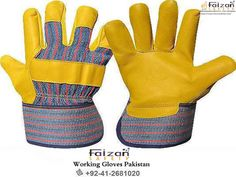 """Check out FaizanSafety Gloves's """"Working Gloves"""" collection Safety Gloves, Cotton Gloves, Latex Gloves, Led Manufacturers, Work Gloves, Leather Working, Save Yourself, Pakistan, Bleach"""