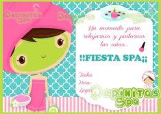 invitaciones de spa de niñas - Buscar con Google