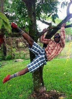 13 Gaya Lucu orang Afrika pas difoto ini lucunya Ngakak Banget