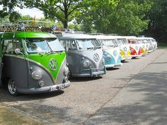 ◆VW Bus Line-Up◆