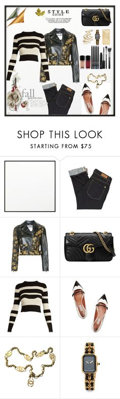"""Autumn 2017 style guide"" by lauren-ilana ❤ liked on Polyvore featuring By Lassen, Paul by Paul Smith, Moschino, Gucci, Proenza Schouler, Tabitha Simmons, ootd, WhatToWear, fall2017 and autumn2017"