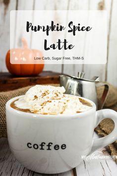 Pumpkin Spice Latte (Sugar Free, Low Carb, THM-S)…