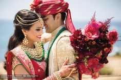 View photos of A Glamours, Hindu Wedding At Terranea Resort in Rancho Palos Verdes, California Marriage Poses, Indian Outfits, View Photos, Wedding Day, Wedding Photography, California, Glamour, Traditional, Palo Verde