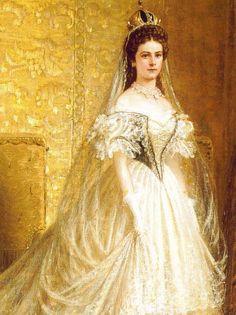 """Empress Elisabeth of Austria (""""Sisi"""")"""