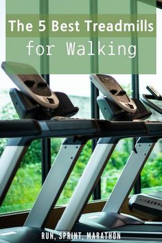 The 5 Best Treadmills for Walking