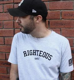 Righteous T-Shirt Christian Apparel, Christian Tees, Christian Clothing, Latest Trends, Africa, Tee Shirts, Mens Tops, Shopping, Clothes