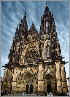 Old gothic church ...would love to visit...I love gothic architecture...especially found in churches... a dream to take my camera and travel and snap every church I see.. inside and out.... had a little taste of this when I went to Rome last year and I loved it...